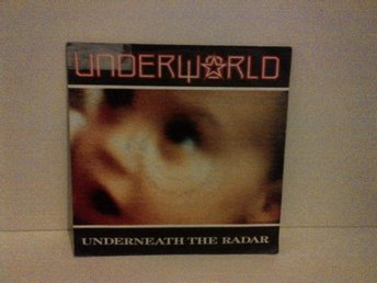 Underworld - Underneath The Radar / Big Red X, vinyl EP