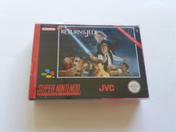 Nintendo Star Wars Return of the Jedi snes cib eur