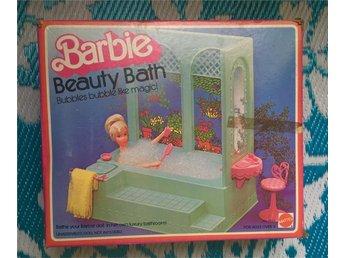 Wow!! Vintage! Barbie Beauty Bath 1975! Komplett! NIB - Malmö - Wow!! Vintage! Barbie Beauty Bath 1975! Komplett! NIB - Malmö
