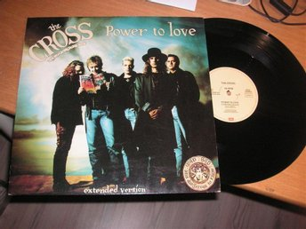 "THE CROSS/Roger Taylor/Queen Power to love 12"" maxi 1990"