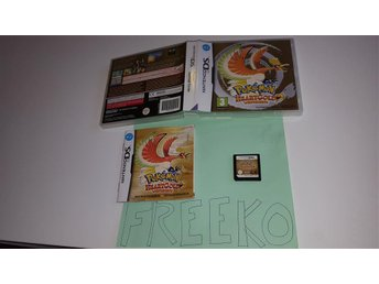 Pokemon Heartgold Med Fodral och manual