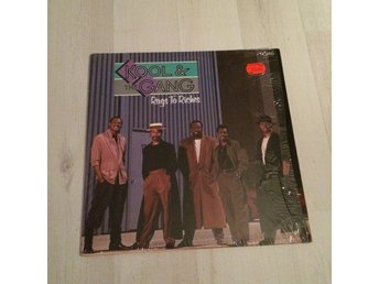 "KOOL & THE GANG - RAGS TO RICHES. (NEAR MINT 12"" MAXI)"