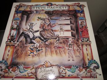 "STEVE HACKETT ""Please dont touch"" LP"