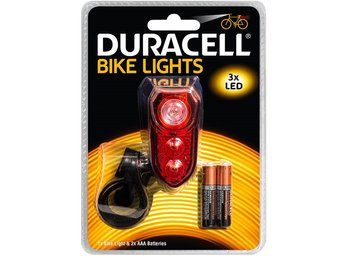 Bike Light Back Oval - Duracell
