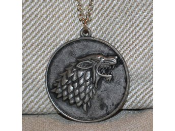 House Stark Sköld / Varg Halsband (Game of Thrones) Metall R