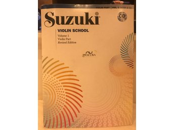 Suzuki violin school 1 inkl CD