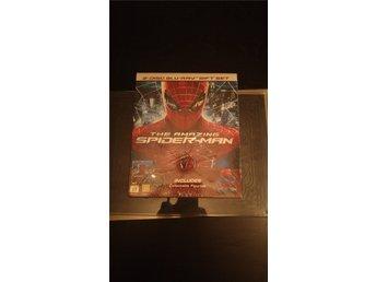 """Javascript är inaktiverat. - Katrineholm - The Amazing Spiderman.. """"Gift Set"""".. Utgången 2-disc utgåva.. med figur och en massa, massa extramaterial.. Regionsfri, svensk text.. Ny & Inplastad.. Fraktkostnad tillkommer.. (55kr) - Katrineholm"""