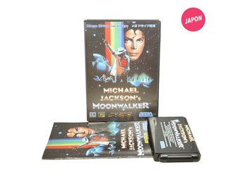 Michael Jackson's Moonwalker (JAP / MD)