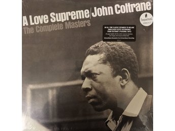 JOHN COLTRANE - A LOVE SUPREME NY 3-LP GATEFOLD MED BOOKLET