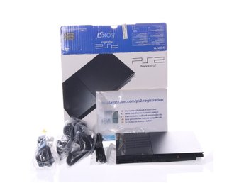 Sony, Playstation 2, Charcoal black