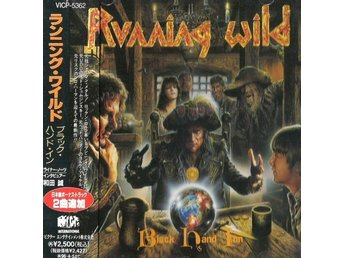 Running Wild -Black Hand Inn cd RARE JAPAN cd 1994 w/2 bonus