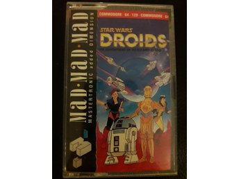 Commodore 64 / 128 Spel Kasett Star Wars Droids