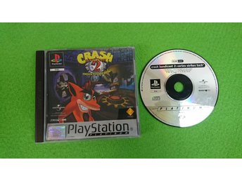 Crash Bandicoot 2 Cortex Strikes Back Playstation 1 PSone ps1