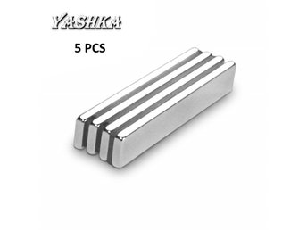 5pcs Super Strong Block Cuboid Magnets Rare Earth Neodymium Magnets NEW