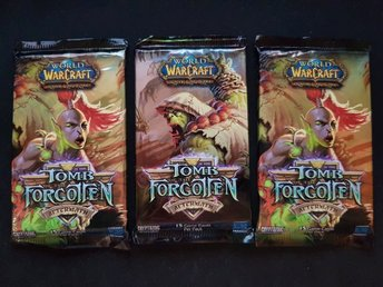 3st World of Warcraft TCG Kort - Tomb of the Forgotten Booster Pack