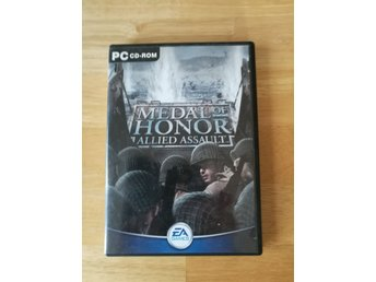 PC spel Medal of Honor Allied Assault med serienummer