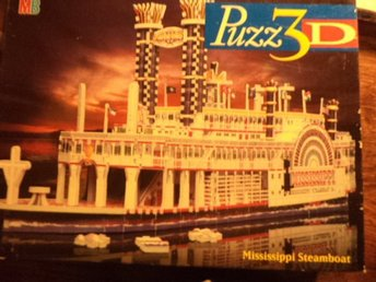 3D Pussel 718 bitar  Mississippi steamboat