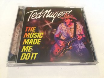 TED NUGENT The Music Made Me Do It CD 2018 Import