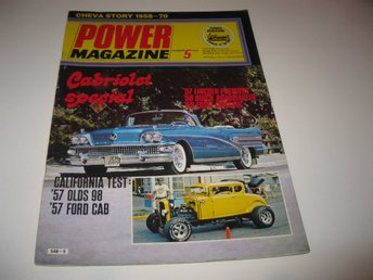 Power 1978-5 Historien Om Chevrolet 1958-70..Imperial Crown