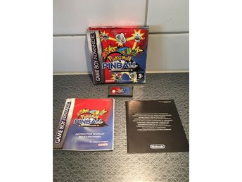 Pokémon Pinball Ruby & Sapphire Komplett GBA, Gameboy Advance