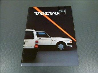 Volvo broschyr: Volvo 240 - 1987 - Norrtälje - Volvo broschyr: Volvo 240 - 1987 - Norrtälje