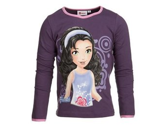 LEGO WEAR T-SHIRT FRIENDS 'EMMA', LILA (116)