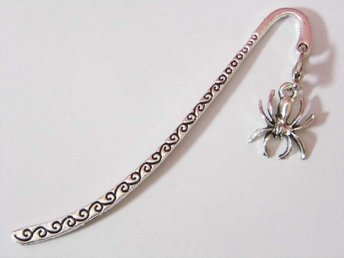Spindel bokmärke / Spider bookmark