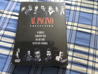 Al Pacino collection med 4 filmer. Sv text. Utgått. Inplastad - Reftele - Al Pacino collection med 4 filmer. Sv text. Utgått. Inplastad - Reftele