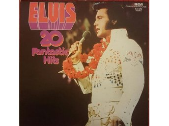 LP ELVIS 20 Fantastic Hits 1975