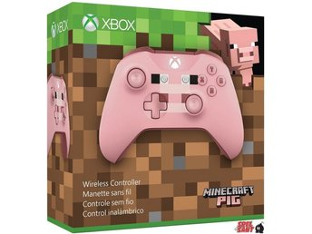 Microsoft Xbox One Wireless Bluetooth Controller Minecraft Pig Special Edition