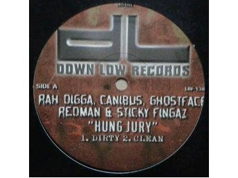 Sticky Fingaz / Prodigy title* Hung Jury/Represent, Represent 12''* Hip-Hop US