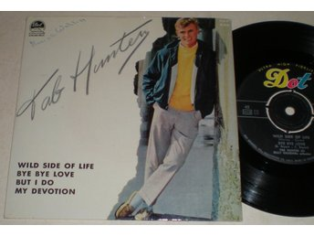 Tab Hunter EP/PS Wild side of life 1961