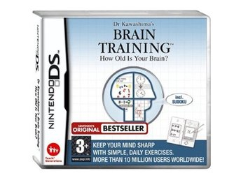 Brain Training - How Old Is Your Brain - Nintendo DS