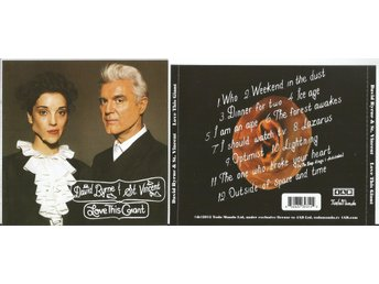 DAVID BYRNE & ST. VINCENT - Love This Giant (CD 2012)