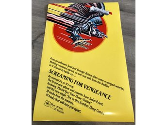 JUDAS PRIEST SCREAMING FOR VENGEANCE POSTER PHOTO POSTER