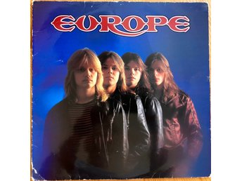 Europe – Europe första pressen på Hot Records – HOT LP 83001
