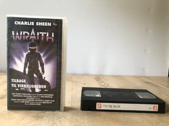 The Wraith - Charlie Sheen - VHS Dansk text