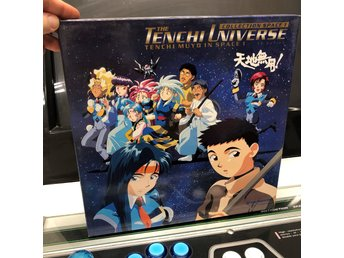 Laserdisc - The Tenchi Universe Collection, Tenchi Muyo In Space vol 1 - Dubbel