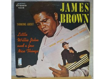 JAMES BROWN  :: THINKING ABOUT  (LP) US Orig