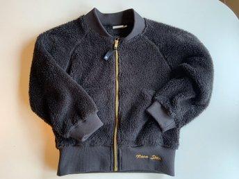 Nova Star fleece lurvig tröja jacka strl 120