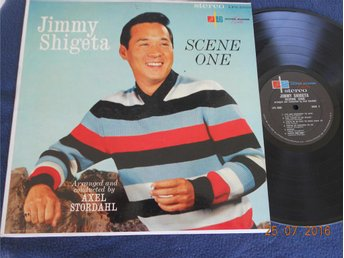 JIMMY SHIGETA /Axel Stordahl - Scene One, Silver Slipper LP USA 1950-tal