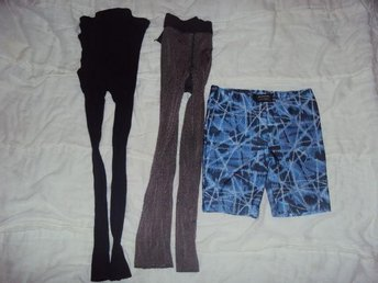 Paket med tights och shorts/sportbyxa