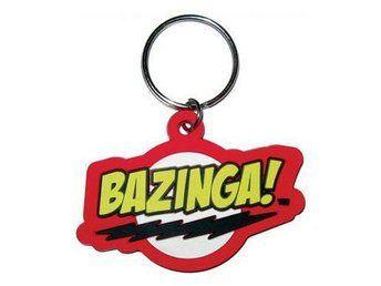 Big Bang Theory Nyckelring Bazinga