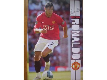Christiano RONALDO (poster, affisch) Manchester United Man U