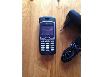 Sony Ericsson T290i, med laddare