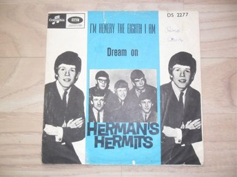 "HERMAN´S HERMITS - I´M HENRY THE EIGHT I AM / DREAM                      ""NORSK"""
