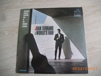 JUAN SERRANDO at the World´s Fair    RCA LPM-3328