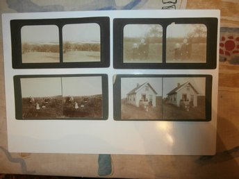 Antique Stereo View Cards from NORWAY