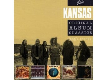 Kansas: Original album classics 1974-77 (5 CD)