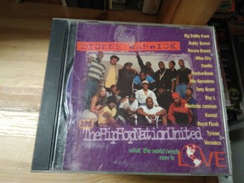 Dionne Warwick & The Hip-Hop Nation United - What The World Needs Now Is Love CD